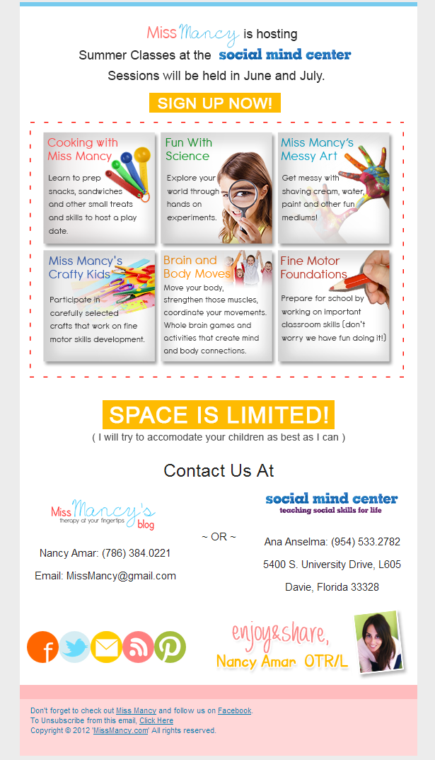 Summer Class at Social Mind Center Davie