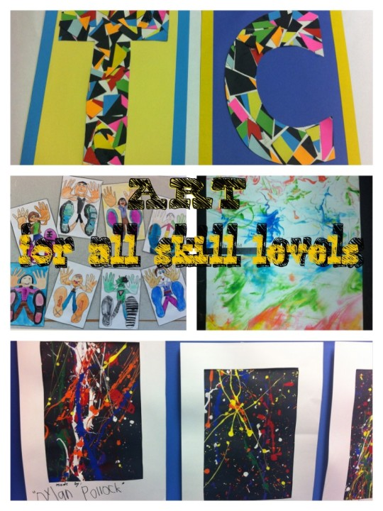 4 really cool art projects to do with kids of all skill