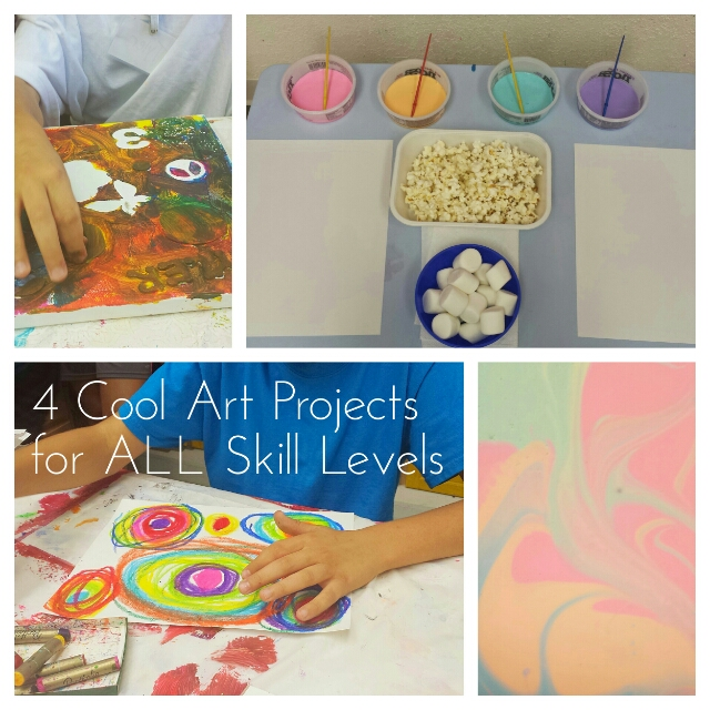 4 really cool art projects for all skill levels miss mancy